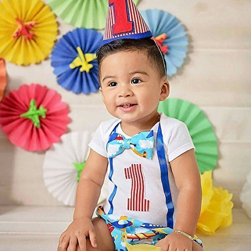 fun-airplane-themed-cake-smash-boys-first-birthday-outfit-set-with-optional-party-hat