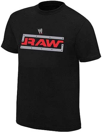 WWE Monday Night Raw Tshirt Black For Unisex