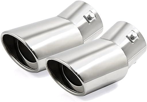 cromato Silenziatore universale per tubo di scarico dell/'auto