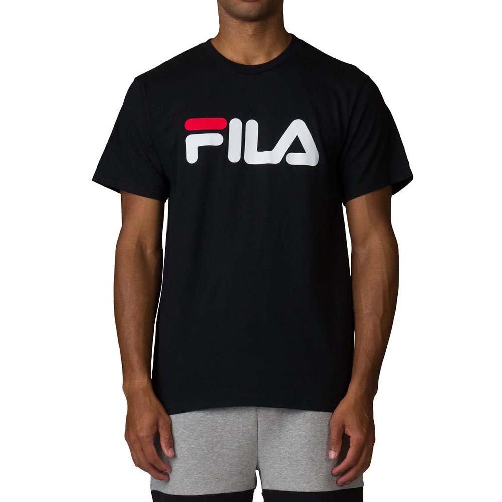Fila Men's Logo Tee, Black, Small