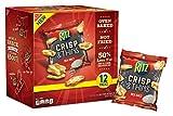 Ritz Crisp & Thins Sea Salt Chips Snack Packs, 12 Count Box, 9 Ounce