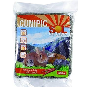 Cunipic - Cunipic Sol de Heno con Zanahoria - 1188 - 500 Grs.: Amazon.es: Productos para mascotas
