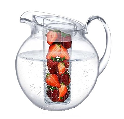 Fruit Infusion Pitcher 3.5 quart/112 oz Clear ()