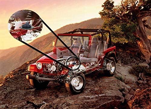 Kit King Inner Gearshift Boot for Jeep Wrangler TJ 1997 1998