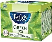 Tetley Naturally Decaffeinated Green Tea, 48 Count