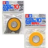 Tamiya Masking Tape 10mm Combo Pack w/ One Piece Refill / 87031 + 87034