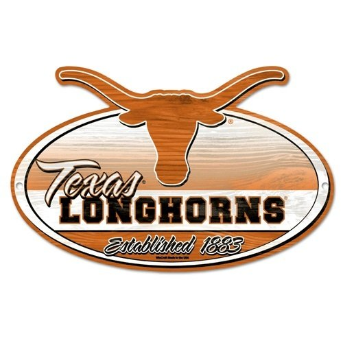 NCAA University of Texas Wood Sign ()