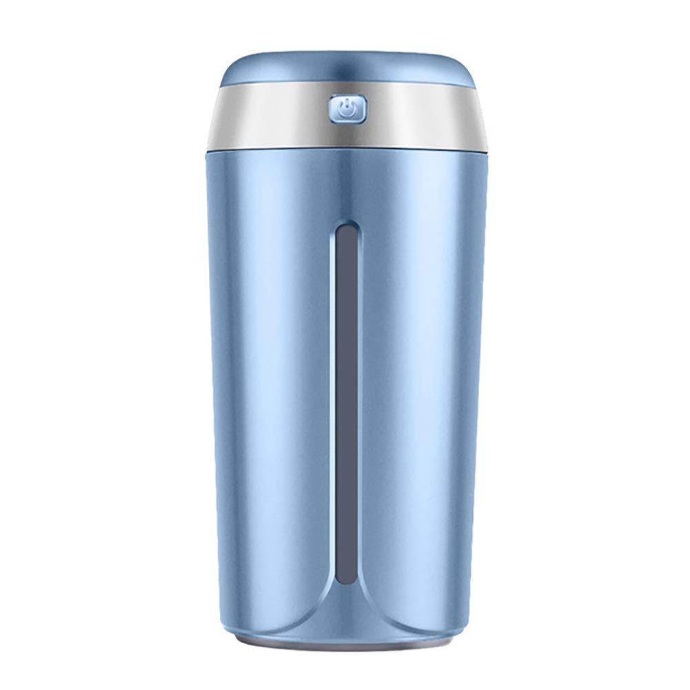 GUANGS Home Office Car USB Charge Humidifier Essential Oil Aroma Diffuser Air Purifier Dark Blue