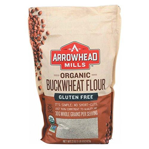 Arrowhead Mills Flour Buckwheat Organic, 22 oz ()