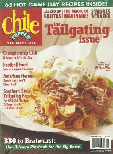 Chile Pepper September 2010 Single Issue Magazine the Tailgating Issue