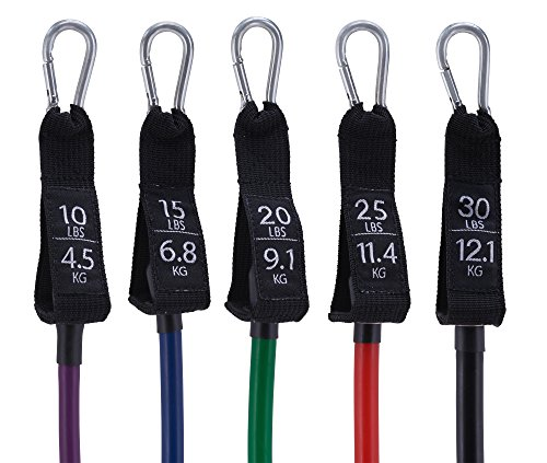 Workout Bands 10 Lb To 30 Lb Exercise Bands For Total Body