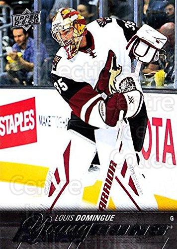 (CI) Louis Domingue Hockey Card 2015-16 Upper Deck (base) 471 Louis Domingue
