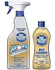 Bar Keepers Friend Soft Cleanser Premixed Formula   13 oz. container + 25.4 oz. spray bottle  (2-Pack)