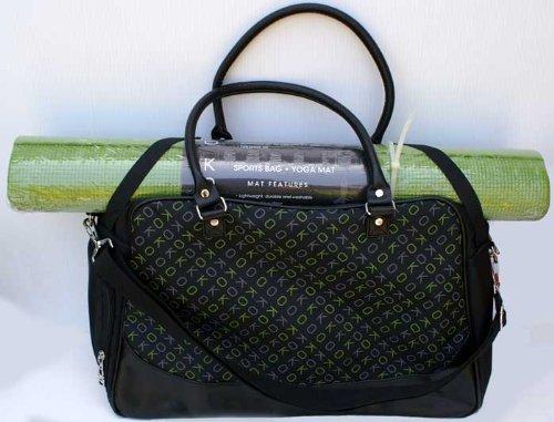 KoKo Sports Bag + Yoga Mat Set - Green