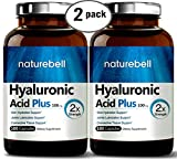 Maximum Strength Hyaluronic Acid 100mg,180 Capsules, Powerfully Supports Skin Hydration & Joints Lubrication. Non-GMO and Made in USA. (2 Pack) Review