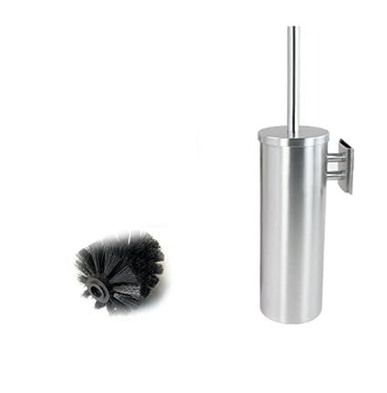 yiyida Juego de escobilla de baño y soporte acero inoxidable largo 10 cm  x38 cm 3fd1de453aea