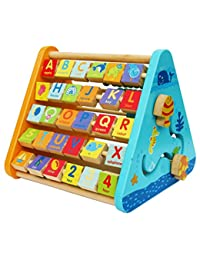 Toys of Wood Oxford Wooden Activity Centre - Activity Triangle BOBEBE Online Baby Store From New York to Miami and Los Angeles