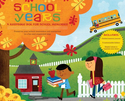 Download School Years Box: A Keepsake Box for School Memories PDF