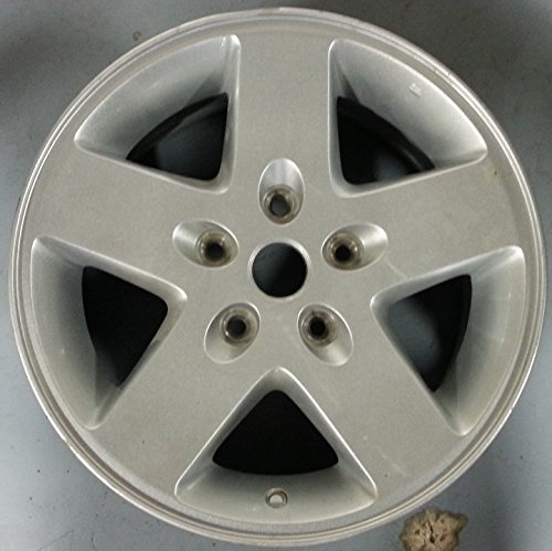 17 INCH 2007 2008 2009 2010 2011 2012 2013 2014 2015 JEEP WRANGLER OEM SILVER ALLOY WHEEL RIM 9074 1AH78TRMAB 17X7.5 (4wd Alloy Wheels)