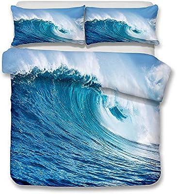 para 3D Wave Textiles para el hogar Europa y América Ropa de Cama ...