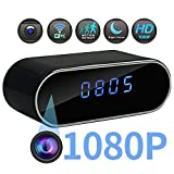 Cheap 2018 New Spy Hidden Camera in Clock-Mini WiFi 1080P HD Wireless Smart Video Recorder Camera-140° Degree Wide Angle Real-time Video-Home Security Remote Monitoring-Night Vision Motion Detection