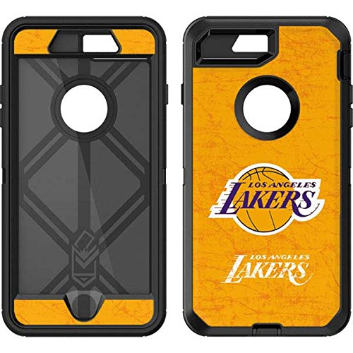 Lakers Skin (NBA Los Angeles Lakers OtterBox Defender iPhone 7 Plus Skin - Los Angeles Lakers Gold Primary Logo)