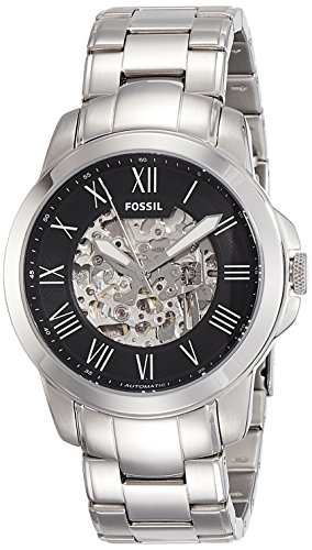 Fossil Men's ME3103 Self-Wind Stainless Steel Watch ()