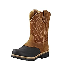Ariat Womens Whirlwind H2O Rugged West 6 B Caramel Brown