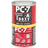 PC Products PC-7 2-Part High Viscosity and Strength Epoxy, 1/2-Pound Can, Charcoal Gray