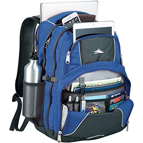 "High Sierra® Swerve 17"" Laptop Computer Backpack - Blue"