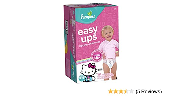 d3459c522490 Amazon.com  Pampers Easy Ups Training Underwear
