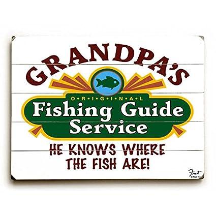 a30fd6d6b264e Amazon.com: Grandpa's Fishing Guide 12