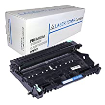 Proosh Compatible Drum Unit for Brother DR-360, DR360 Non OEM; for use in Compatible Printers: Brother DCP-7030, DCP-7040, HL-2140, HL-2150N, HL-2170N, HL-2170W, MFC-7320, MFC-7340, MFC-7345DN, MFC-7345N, MFC-7440N, MFC-7840W (TONER CARTRIDGE NOT INCLUDED)