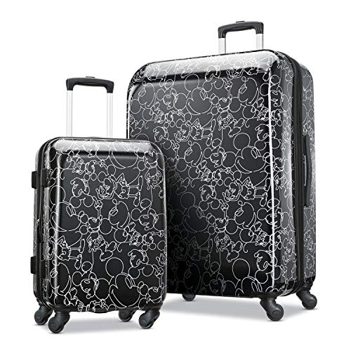 (American Tourister Kids' 2 Pc (21/28), Mickey Mouse Scribber Multi-Face)