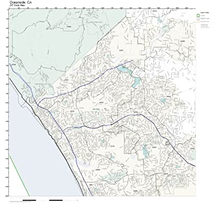 Amazon.com: ZIP Code Wall Map of Oceanside, CA ZIP Code Map ... on oceanside mapquest, garden grove ca map, sylmar ca map, riverside ca map, madera ca map, carlsbad ca map, long beach ca map, vacaville ca map, oceanside california, oceanside city map, murrieta ca map, oceanside google maps, cypress ca map, victorville ca map, chicago ca map, san dimas ca map, camp pendleton ca map, oceanside street map, oceanside beach, del mar ca map,