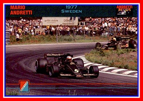 1992 Collect-A-Card Andretti Racing #89 Mario Andretti Car