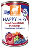 Dogswell Happy Hips for Dogs, Lamb and Sweet Potato Stew Recipe, 13-Ounce Cans (Pack of 12), My Pet Supplies