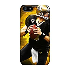 iphone 5c DPm6214RWyD Customized Vivid New Orleans Saints Skin Protector Hard Phone Covers -SherriFakhry
