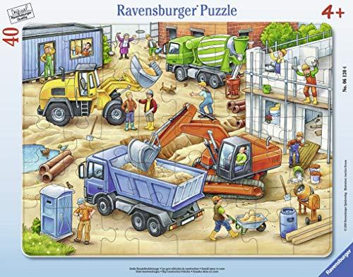 (Ravensburger Large Construction Vehicles Jigsaw Puzzle (40 Piece))