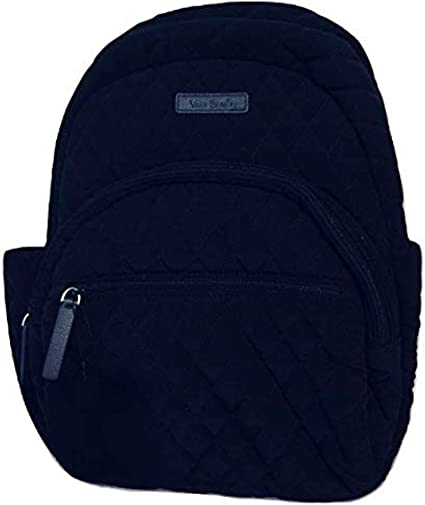 Vera Bradley Essential Compact Backpack Navy , Small