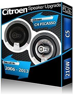 Citroen C4 Picasso Puerta trasera Altavoces Fli Audio Altavoces de coche kit 210 W