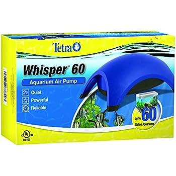 Tetra Whisper Air Pump, For 40 to 60 Gallon Aquariums