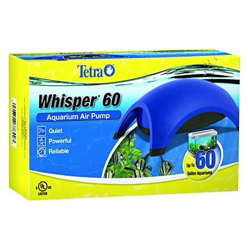 Tetra Whisper Air Pump, For 40 to 60 Gallon Aquariums ()