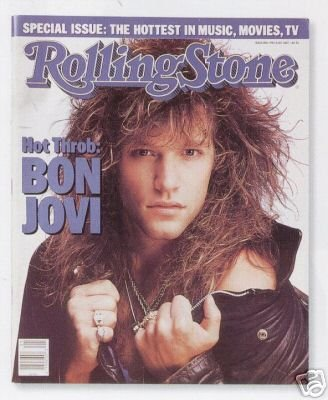 ROLLING STONE # 500 (BON JOVI) ISSUE MAY 21ST 1987 (Bon Stone Jovi Rolling)