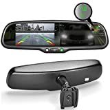 "Master Tailgaters MR-43-A2DTC OEM Rear View Mirror with Ultra Bright 4.3"" Auto Adjusting Brightness LCD Plus Auto Dimming Mirror Plus Compass"