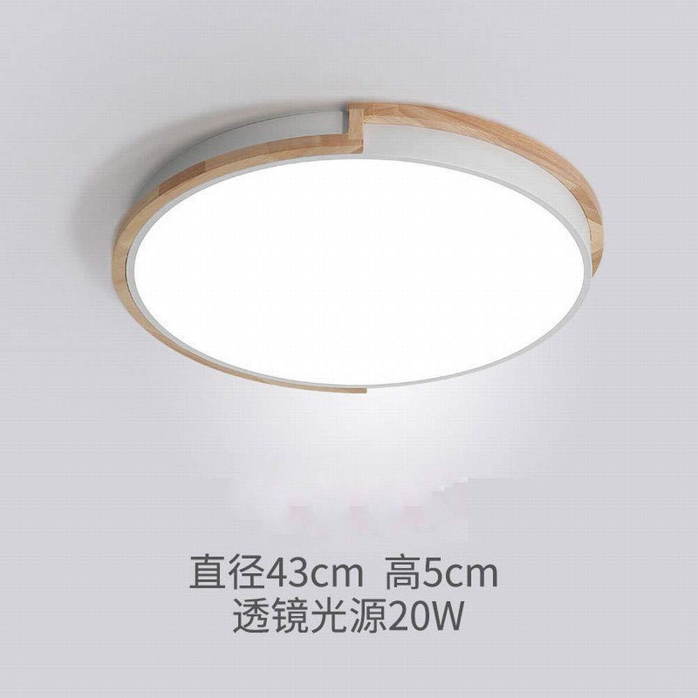 MackeJacke Schlafzimmerdeckenlampe Kreative Einfache Moderne Led-Lampen 43  5  43Cm Weißes Dreifarbiges Licht