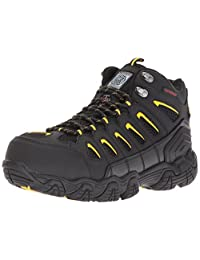 Skechers for Work Men's 77054 Blais-Bixford Steel Toe Hiking Shoe