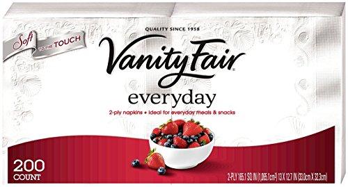 Vanity Fair Everyday Napkins White