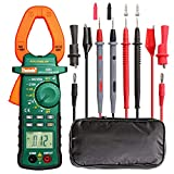 6000 Counts digital multimeter and 2000 Count Digtial Clamp Meter,Auto-Ranging Multimeters AC/DC Volt AC/DC Current Ohm Diode Resistance Test Voltage Tester