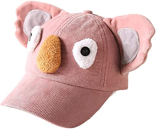 Hosaire 1x Patrón de Koala Gorra de Pana Niño Niña Sombrero de Sol ...